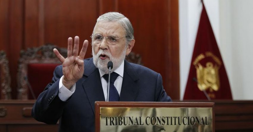 TC: Culminó mandato de 6 miembros del Tribunal Constitucional y el Congreso no ha elegido a sus reemplazantes