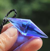 Blue quartz has many healing properties.