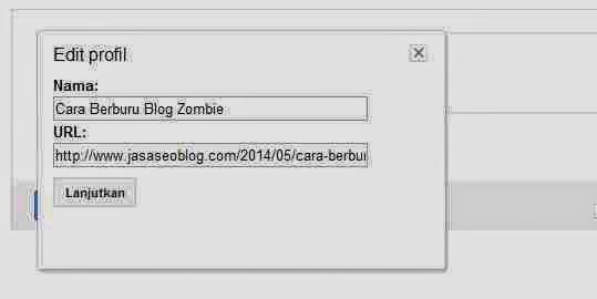 Cara Membuat Link Pada Komentar Blog