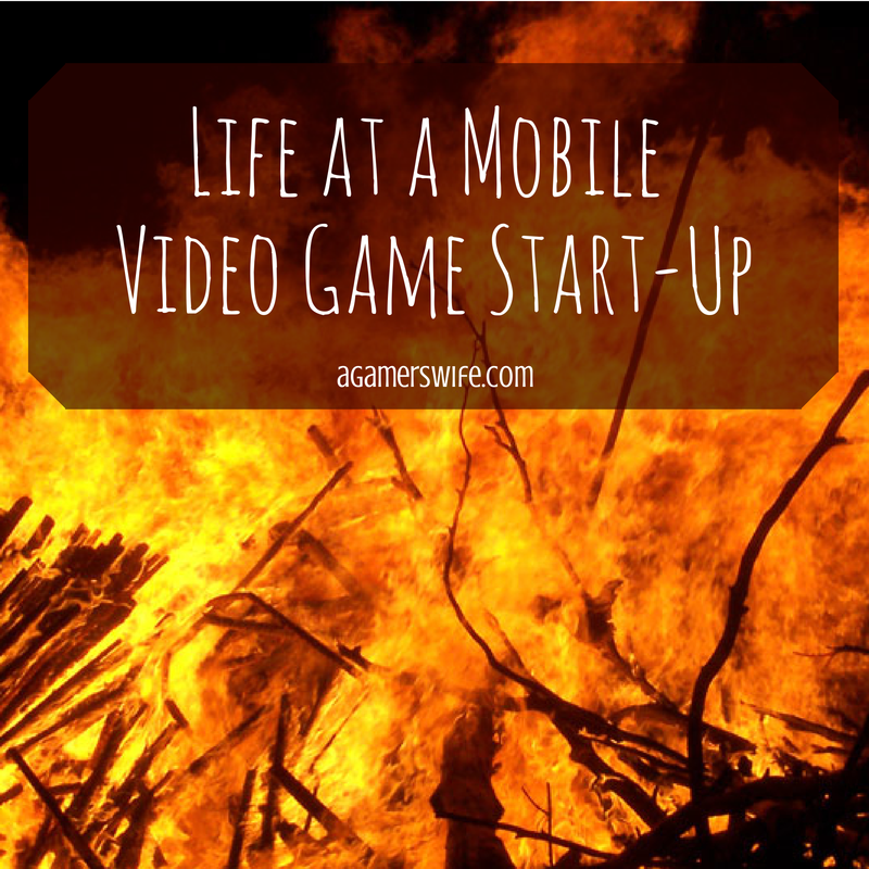 Life at a mobile video game start-up