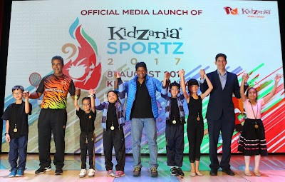KidZania Kuala Lumpur - Launch of Kidzania Sportz 2017