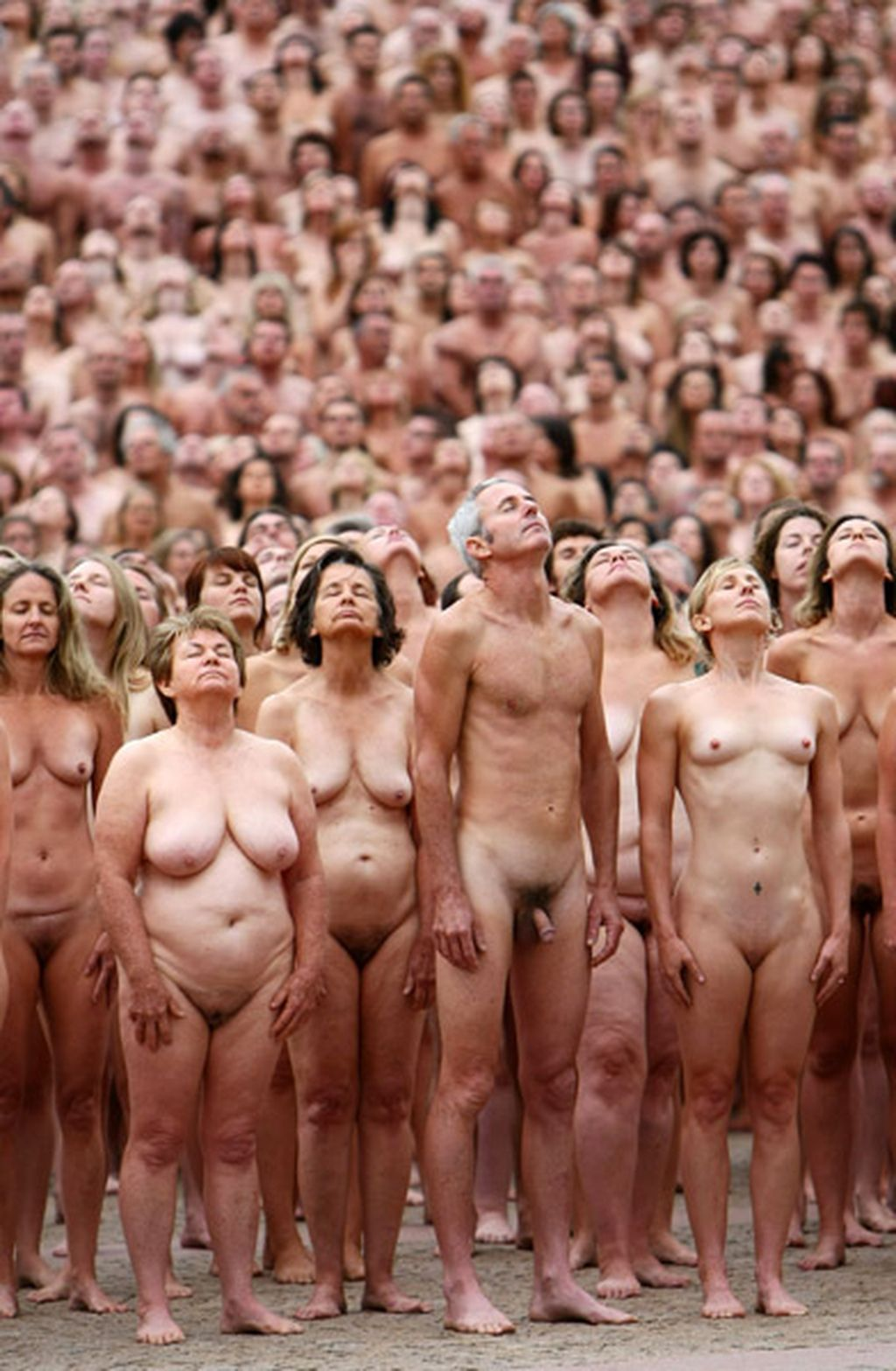 Exposition Naturelle Spencer Tunick - Sydney-2431