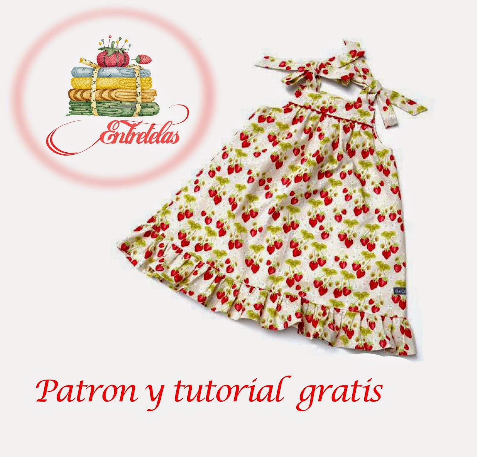 Si te gusta la costura y quieres confeccionar este lindo vestido te  ofrecemos el tutorial y los patrones completamente gratis 772125919590
