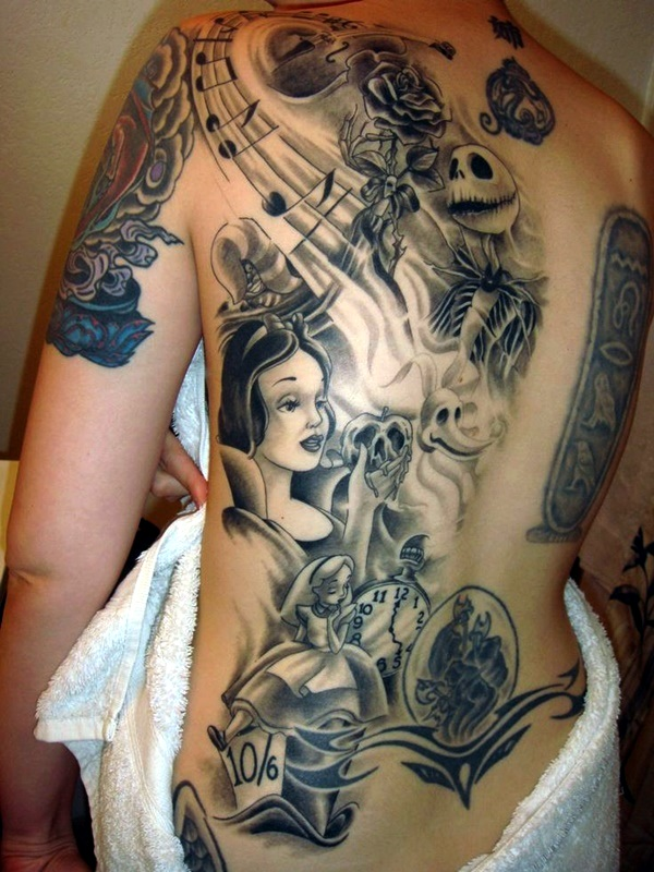 Nightmare Before Christmas Tattoo That Truly Amazing Tattoo Designs Ideas Gallery
