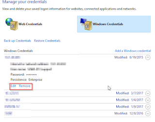Cara Menghapus User Login Windows Credentials Jaringan Yang Tersimpan Di Windows 10