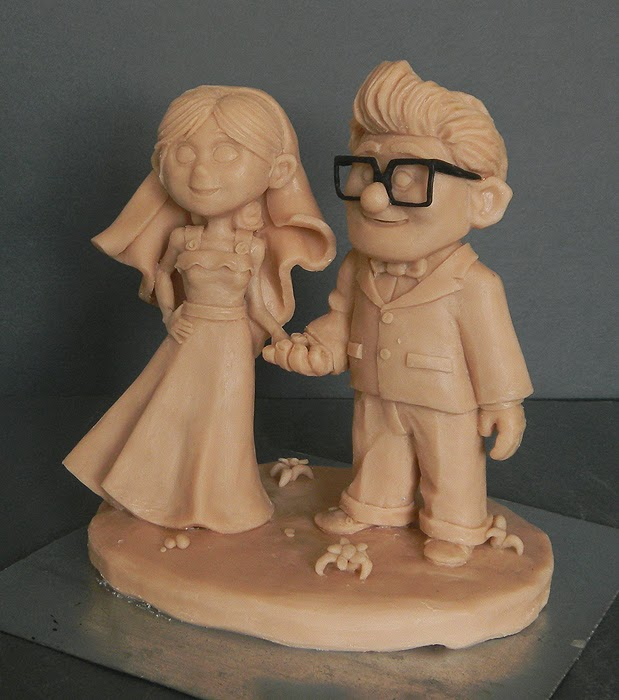 sculture artigianali protagonista film animazione cartoni fumetti orme magiche