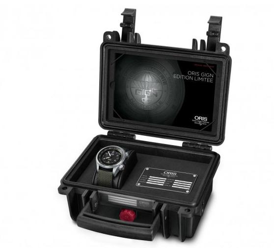 confezione Oris Big Crown Propilot Altimeter GIGN