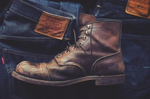 Levis Military Boot Men