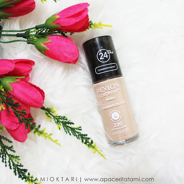 [REVIEW] REVLON COLORSTAY FOUNDATION FOR COMBINATION/OILY | FOUNDIE UNTUK KULIT BERJERAWAT