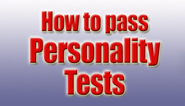 pre-employment personality tests