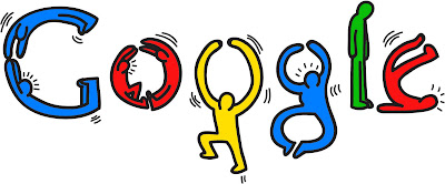 Project 3 googledoodle 14 keith haring google doodle for Keith haring figure templates