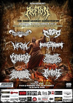 "Launching Party Album Perdana Repton ""The Book Against Catastrophy"""