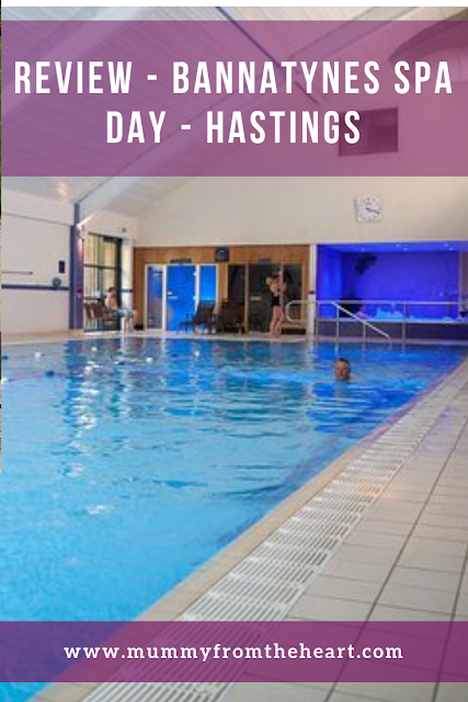 Pin for spa day at Bannatynes Hastings