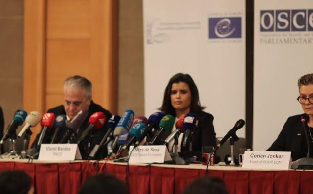 OSCE tilda de falsas las elecciones en Azerbaiyán