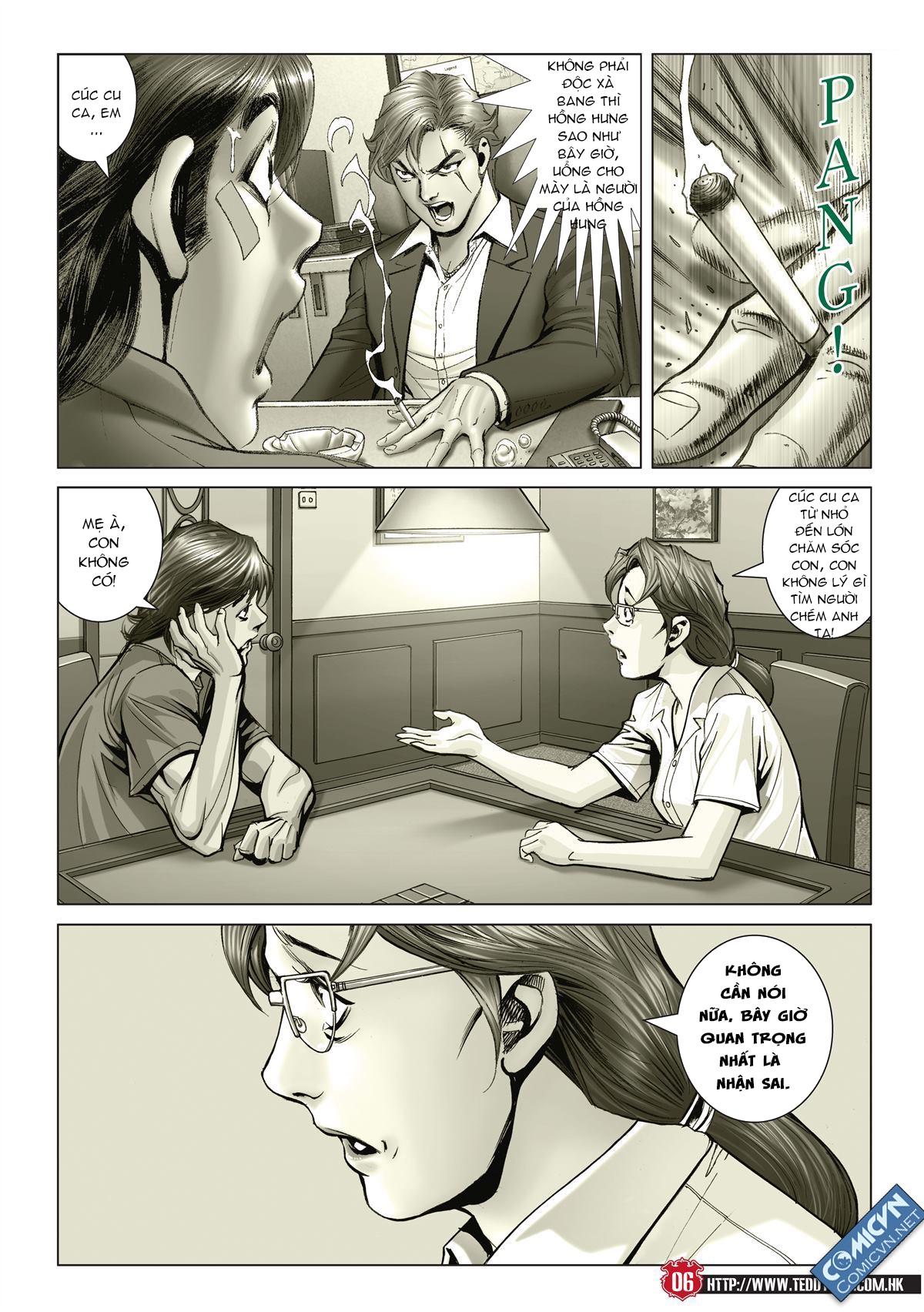 Người Trong Giang Hồ chapter 2001: tự tận trang 5