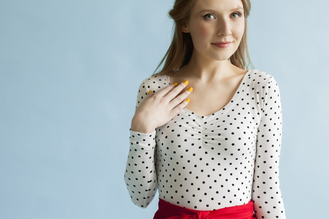 Agnes sewing pattern - learn to sew jersey