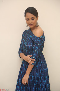 Anchor Anasuya in a Blue Gown at Jai Lava Kusa Trailer Launch ~  Exclusive Celebrities Galleries 010.JPG