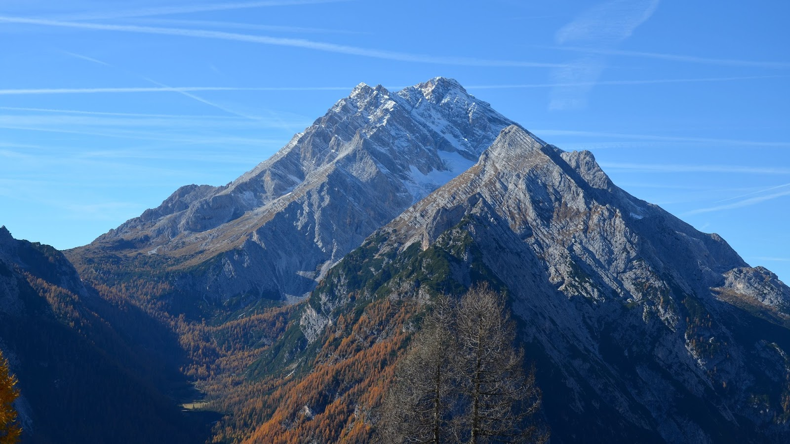 I cambiamenti climatici influiscono nel paesaggio Alpino