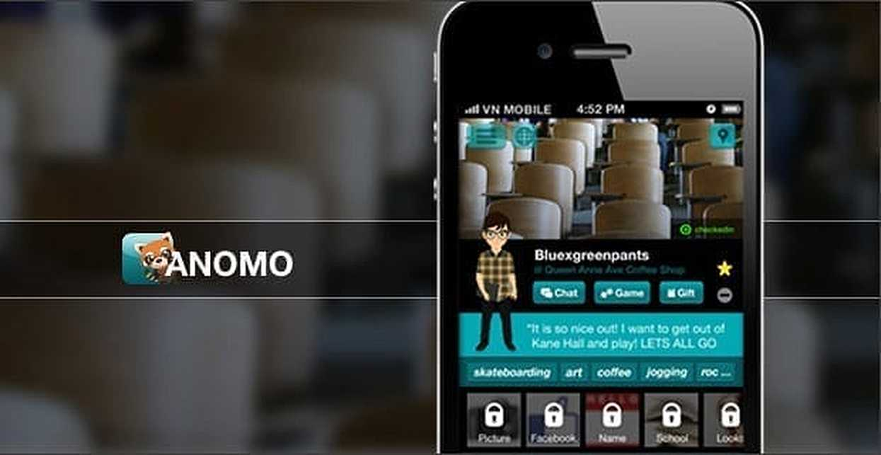 Anomo dating app