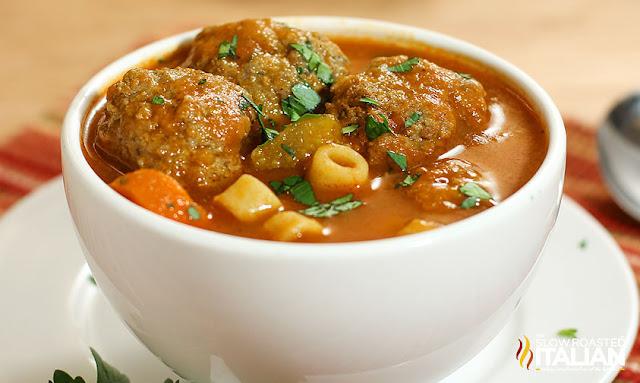 http://theslowroasteditalian-printablerecipe.blogspot.com/2016/09/italian-meatball-soup.html