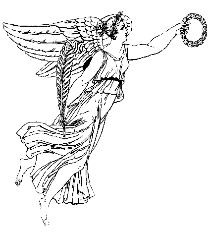 Diosa Nike simbolo significado