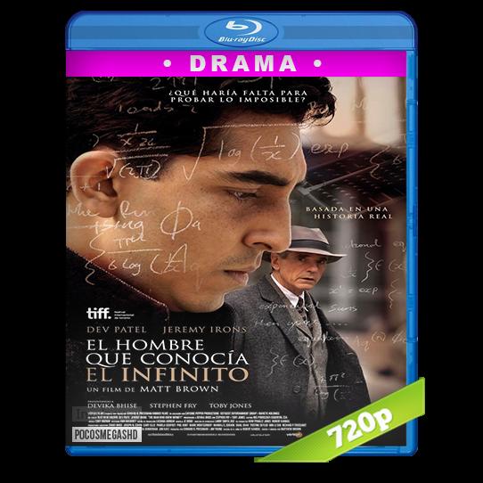 El hombre que conocía el infinito (2015) BRRip 720p Audio Dual Latino-Ingles