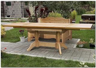 Из каких пород дерева изготавливается садовая мебель?