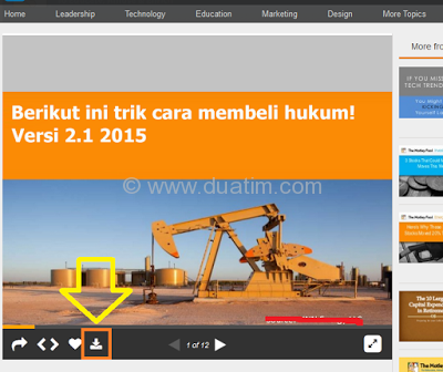 Cara download dokumen dari slideshare.com 3