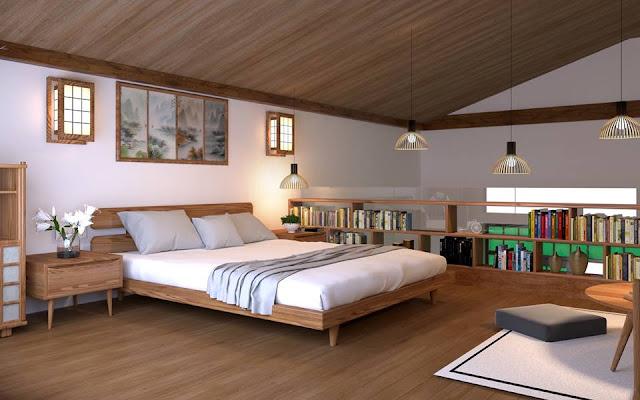 Thiết kế phòng ngủ 2 Ohara Villas