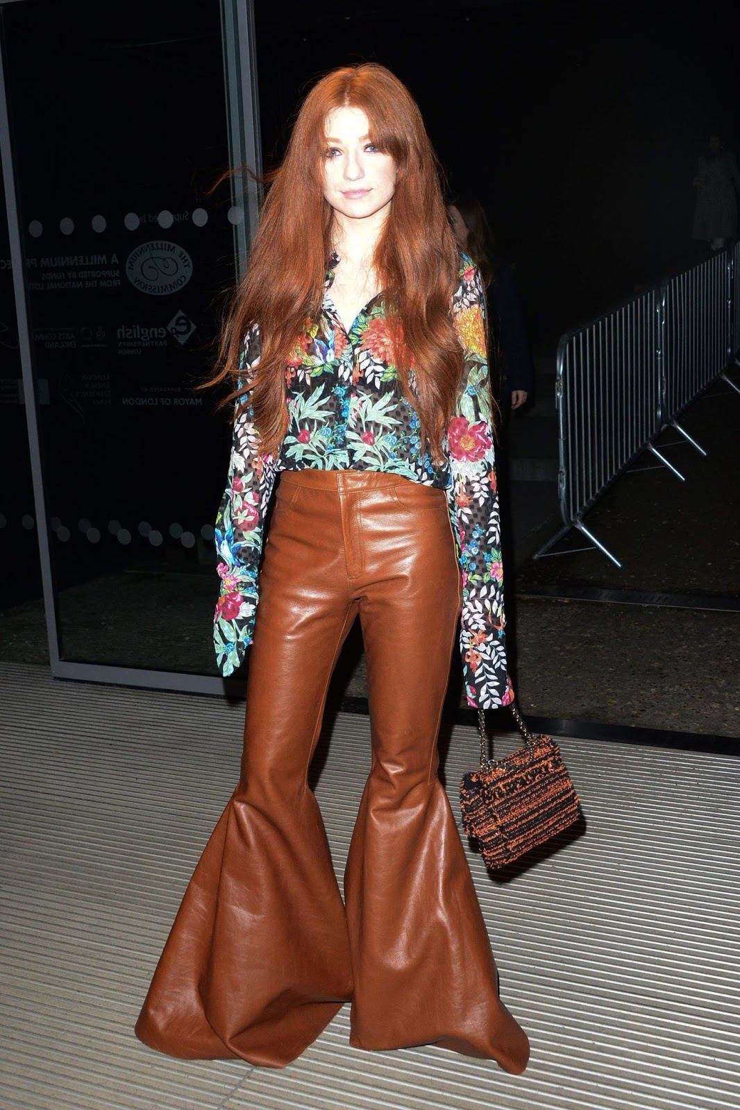 Lovely Ladies in Leather: Nicola Roberts in leather pants