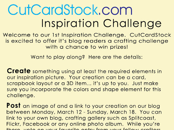 Show Us Your Stuff.... Inspiration Challenge!