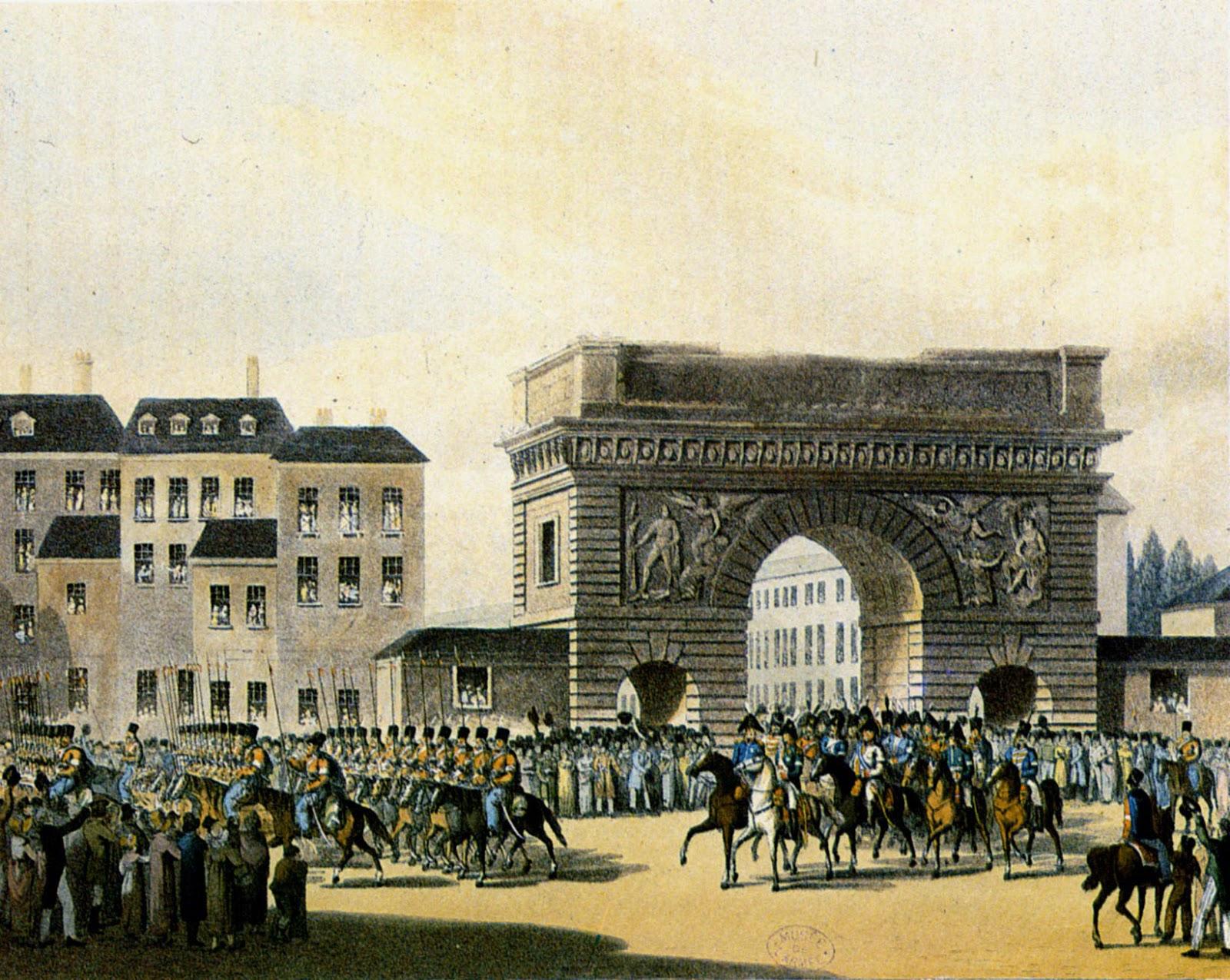 Картинки по запросу русские в париже 1814