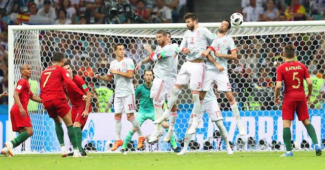 MUNDIAL 2018 | Ronaldo 3 – Espanha 3