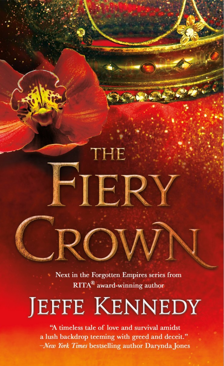The Fiery Crown (Forgotten Empires, Bk2)