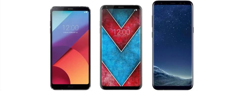 Cùng xem ảnh dựng của LG V30 bên cạnh LG G6 và Galaxy S8+