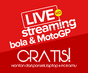 TV online live streaming bola dan MotoGP