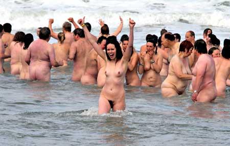 Frauen Nackt Baden
