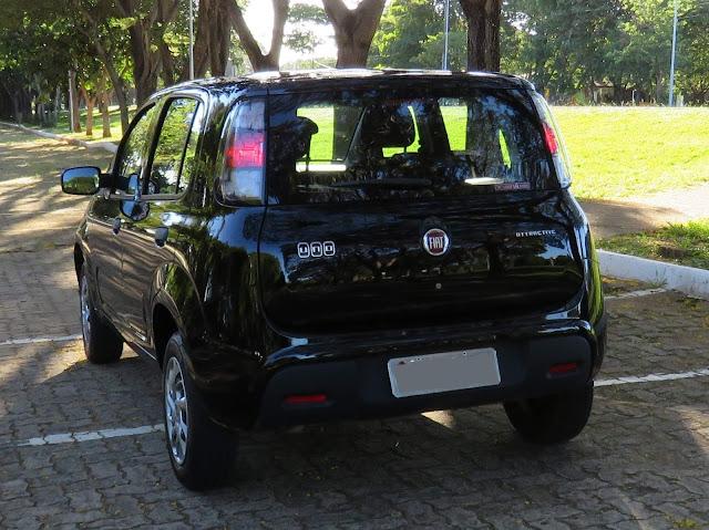 Fiat Uno 2017 Attractive 1.0