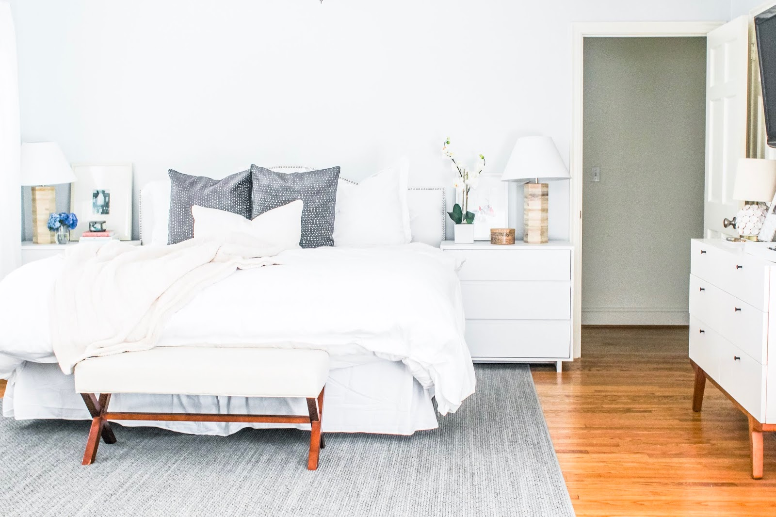 Master Bedroom Reveal with Tarkett-Tandus Centiva