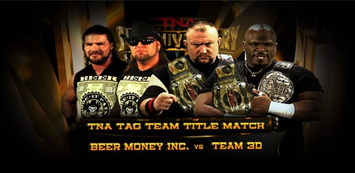TNA Slammiversary 7 - Beer Money Inc vs. Team 3D