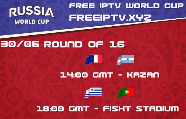 World cup 2018 iptv free sport channel 30/06/2018