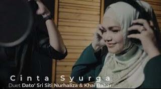 Lirik Lagu Dato Sri Siti Nurhaliza & Khai Bahar - Cinta Syurga