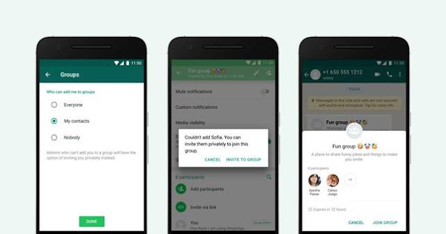 WhatsApp libera novas configurações de privacidade para grupos que impede que você seja convidado mesmo sem querer