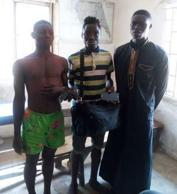 We always disguise as Okada riders to rob passengers - Suspects
