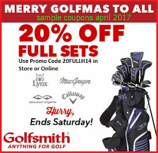 Golfsmith coupons for april 2017