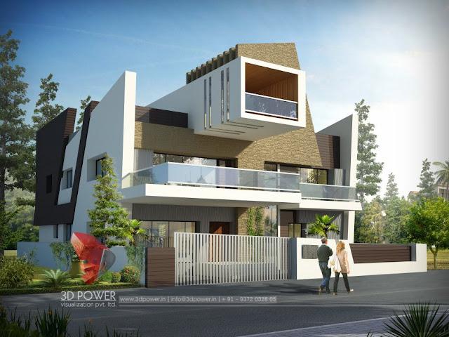 Gorgeous Home Exterior Design   3D Bungalow