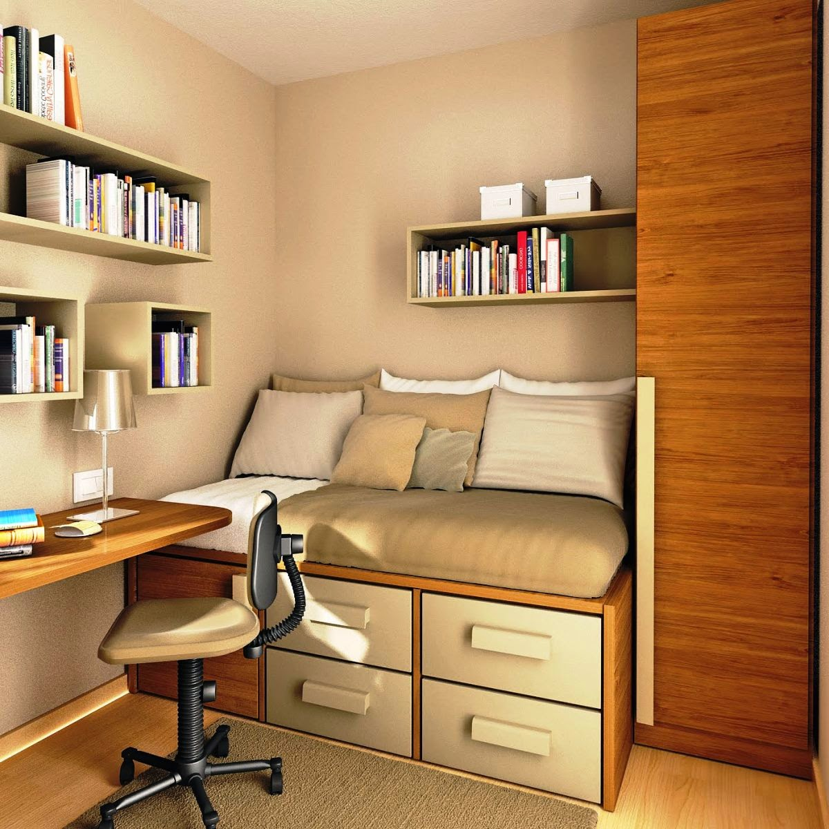Decorating Ideas For Study Spaces: Perfect Study Area In Kids Rooms