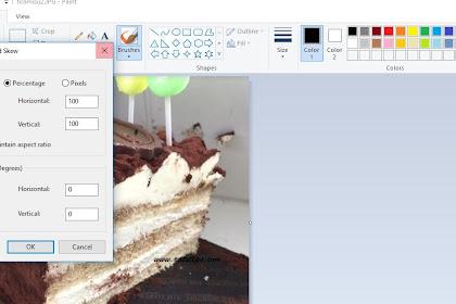 Cara Mengkompress Gambar Menggunakan Snipping Tools dan Paint