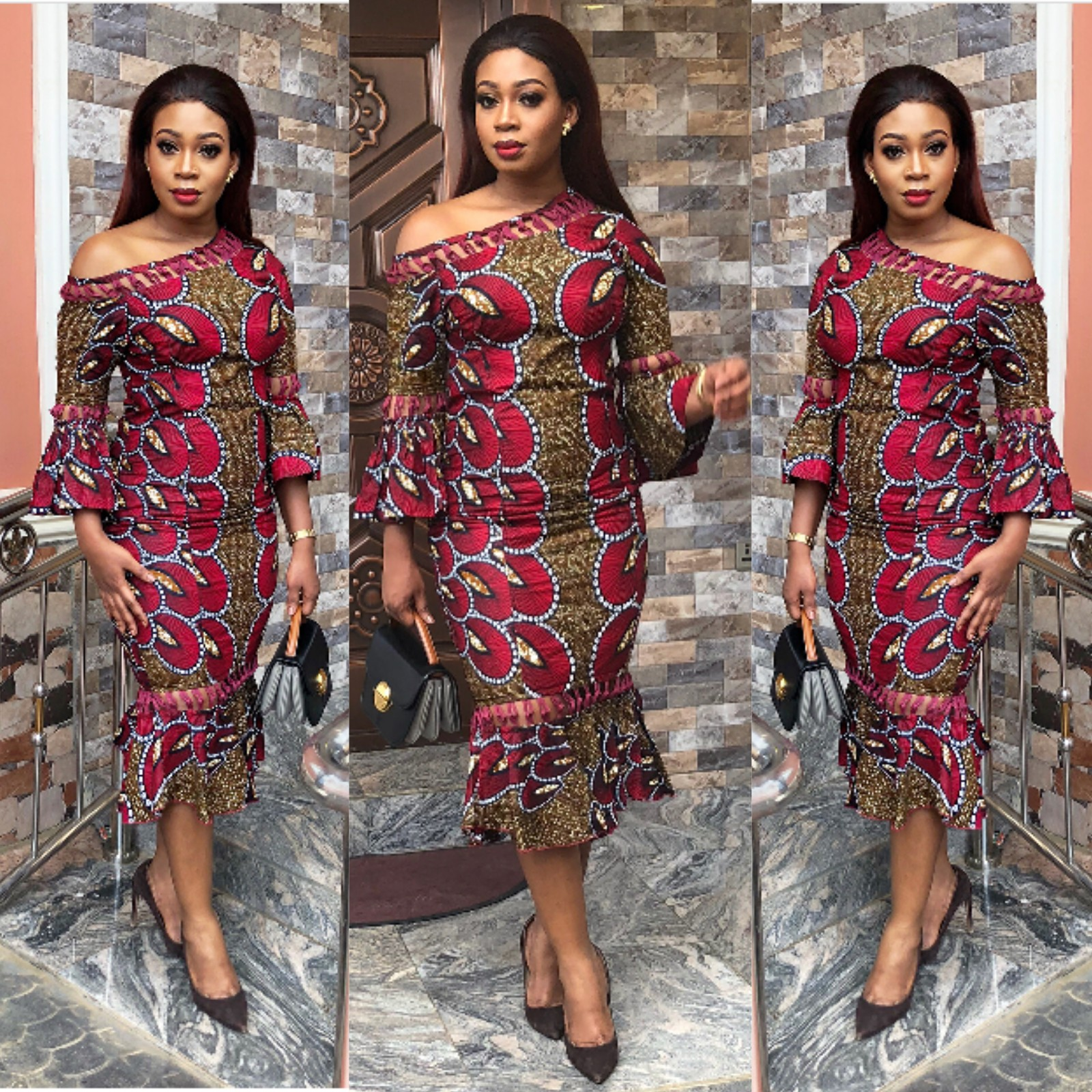 Kitenge Dress Designs 2019
