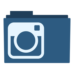 Preview of instagram website folder icon